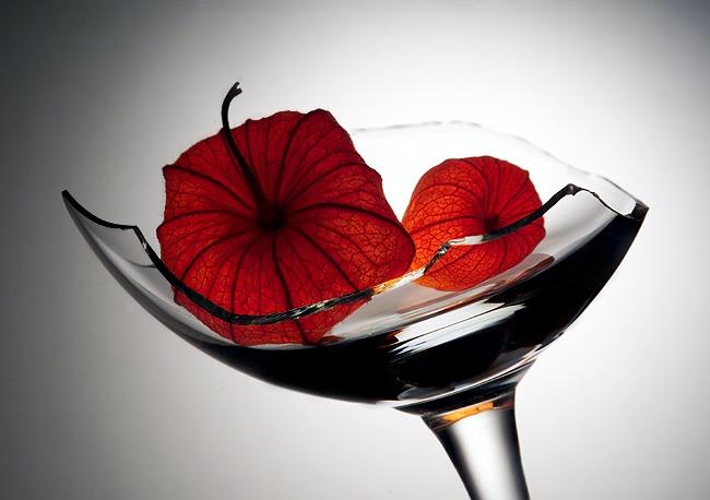 Как сделать красно черно белым