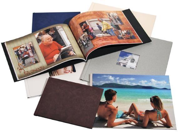 Как сделать фотоальбом в твердом переплете